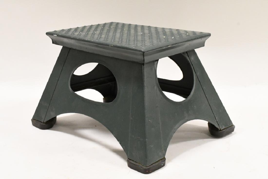 Vintage Industrial Stool - 2
