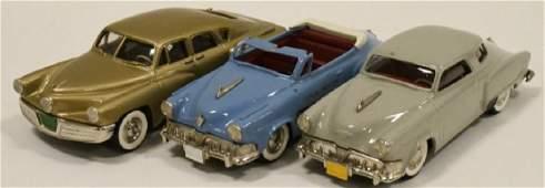 Lot Of Three 1:43 Scale Brooklin Models Cars