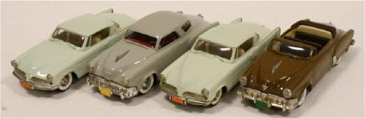 Lot Of Four 1:43 Scale Brooklin Models Cars