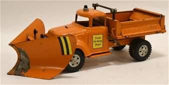 Tonka State Hi-Way Dept Hydraulic Plow Truck