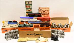 1961 Postwar Lionel Space Age Set #X658 In Box