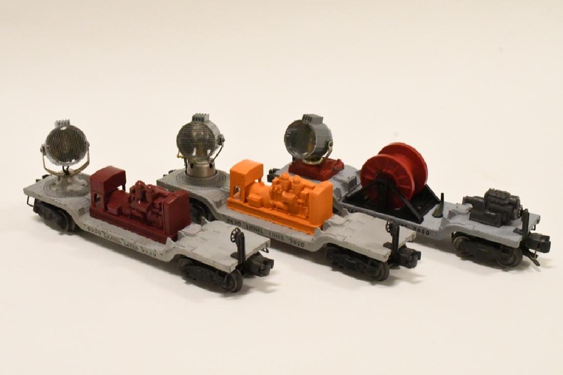 Lot Of 3 Post War Lionel Searchlight Cars - 4