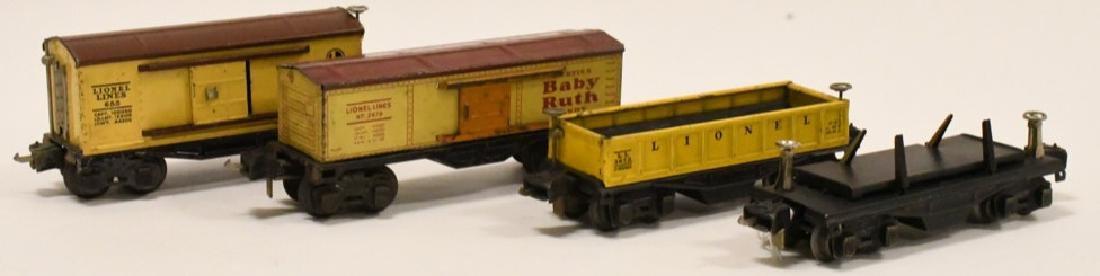 Pre War Lionel Train Car lot