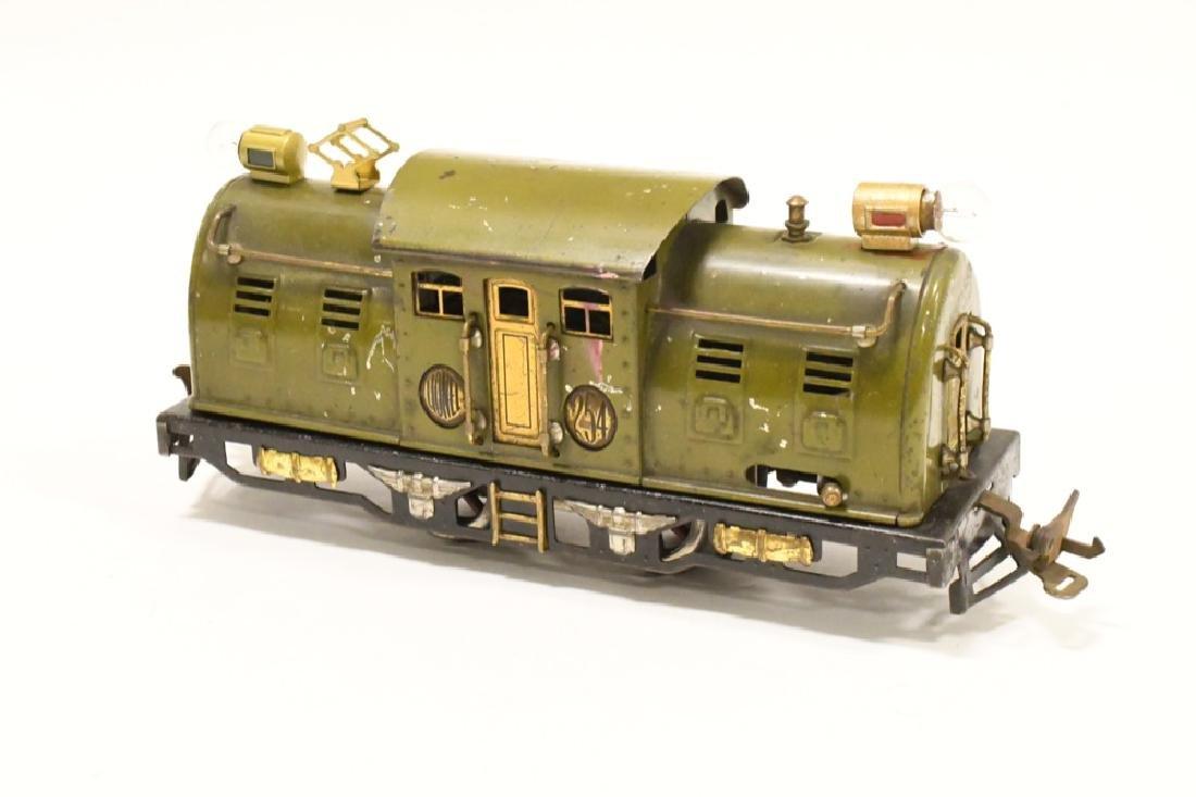 Pre War Lionel 254 Locomotive With Pullman Cars - 3