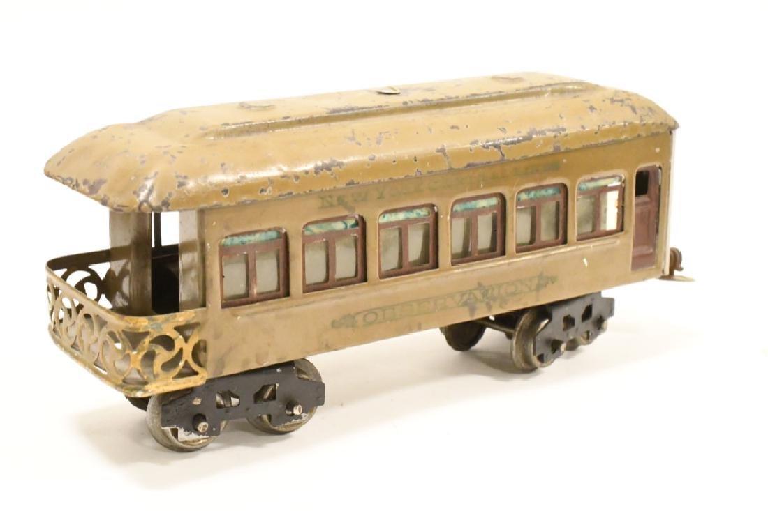 Pre War Lionel 254 Locomotive With Pullman Cars - 4