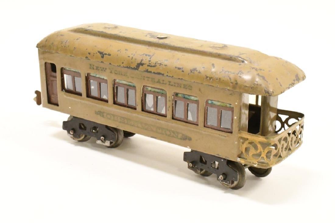 Pre War Lionel 254 Locomotive With Pullman Cars - 5
