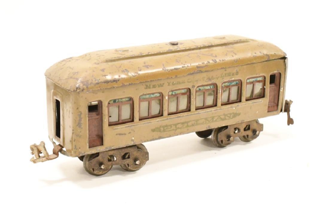 Pre War Lionel 254 Locomotive With Pullman Cars - 6