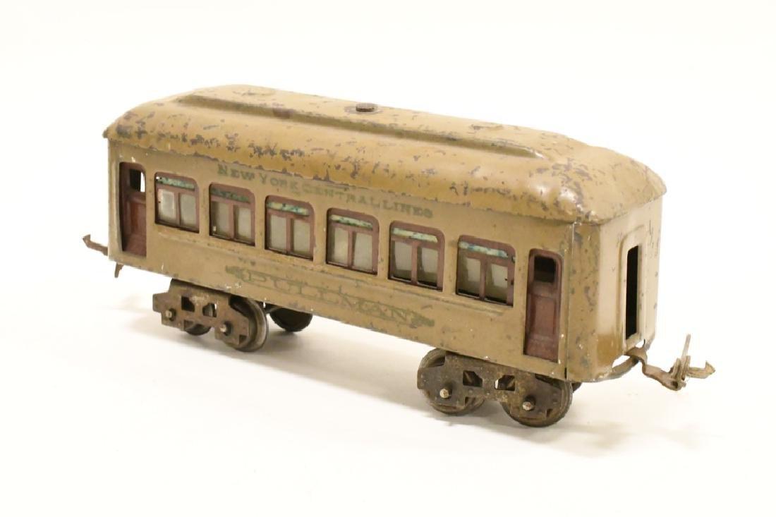Pre War Lionel 254 Locomotive With Pullman Cars - 7