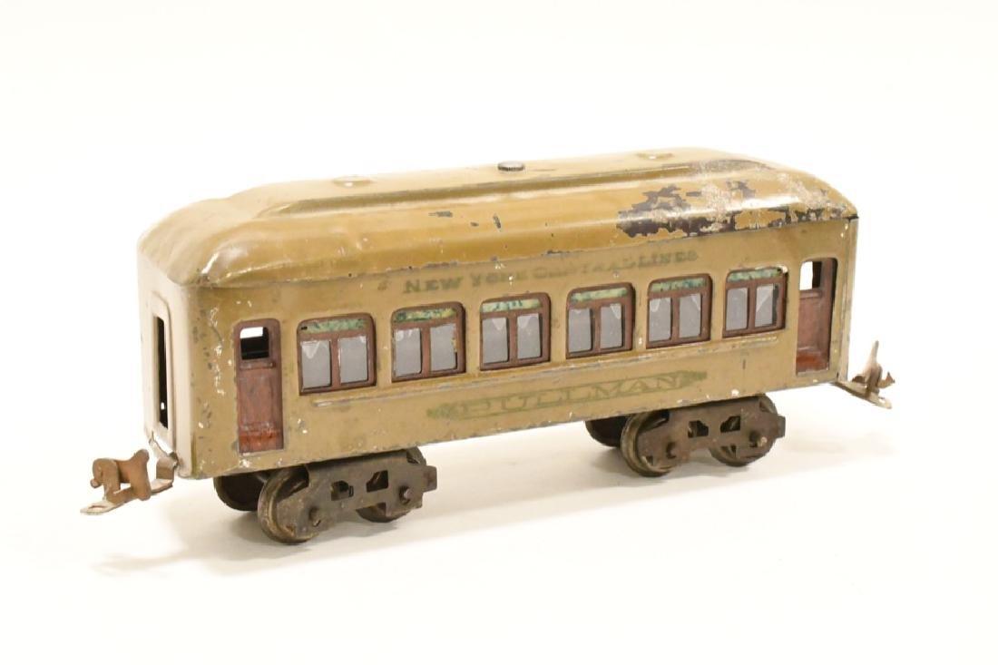 Pre War Lionel 254 Locomotive With Pullman Cars - 8