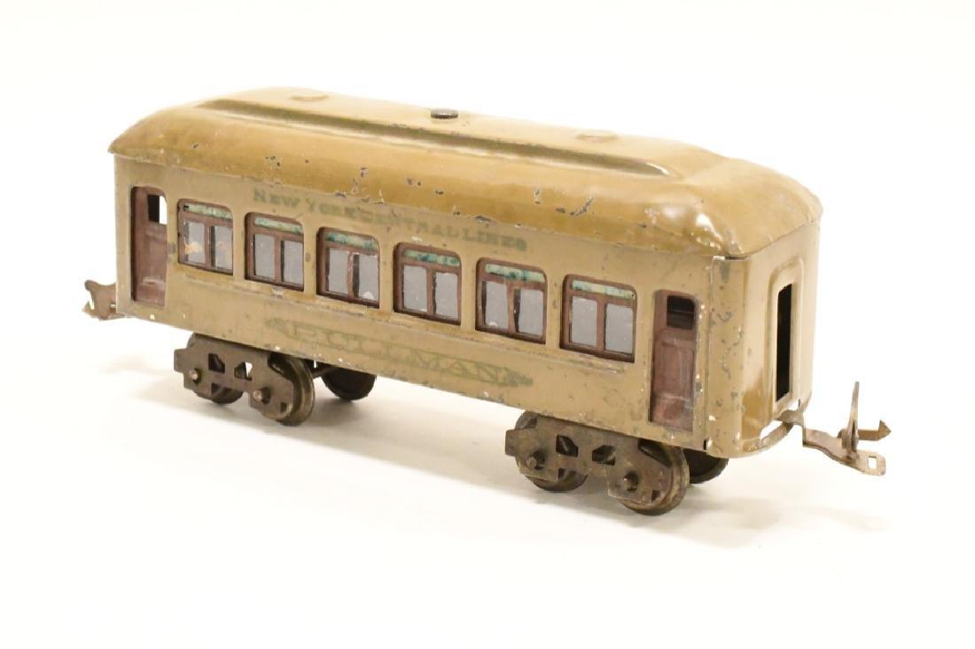 Pre War Lionel 254 Locomotive With Pullman Cars - 9