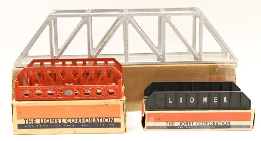 Vintage Lionel O Gauge Bridges In Boxes