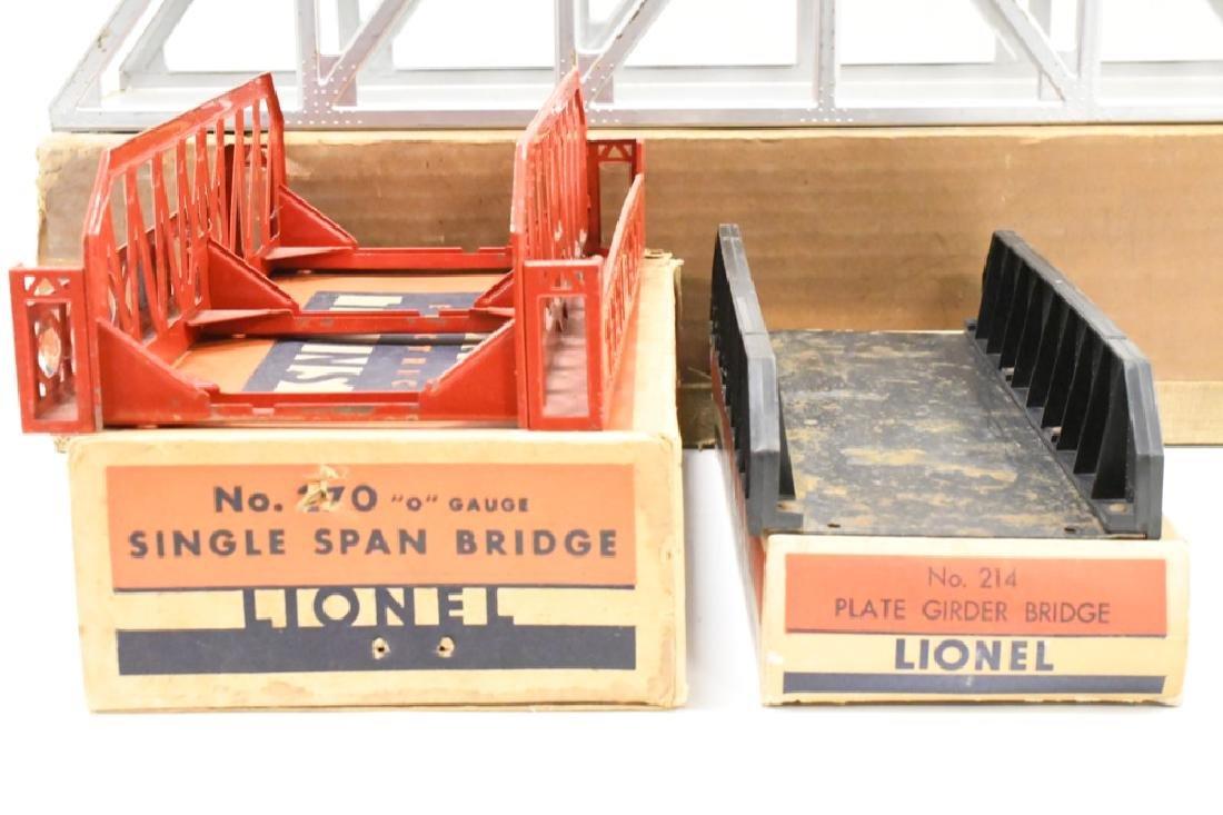 Vintage Lionel O Gauge Bridges In Boxes - 2