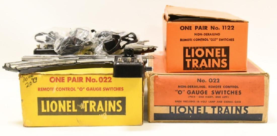 Vintage Lionel O Gauge Remote Control Switches