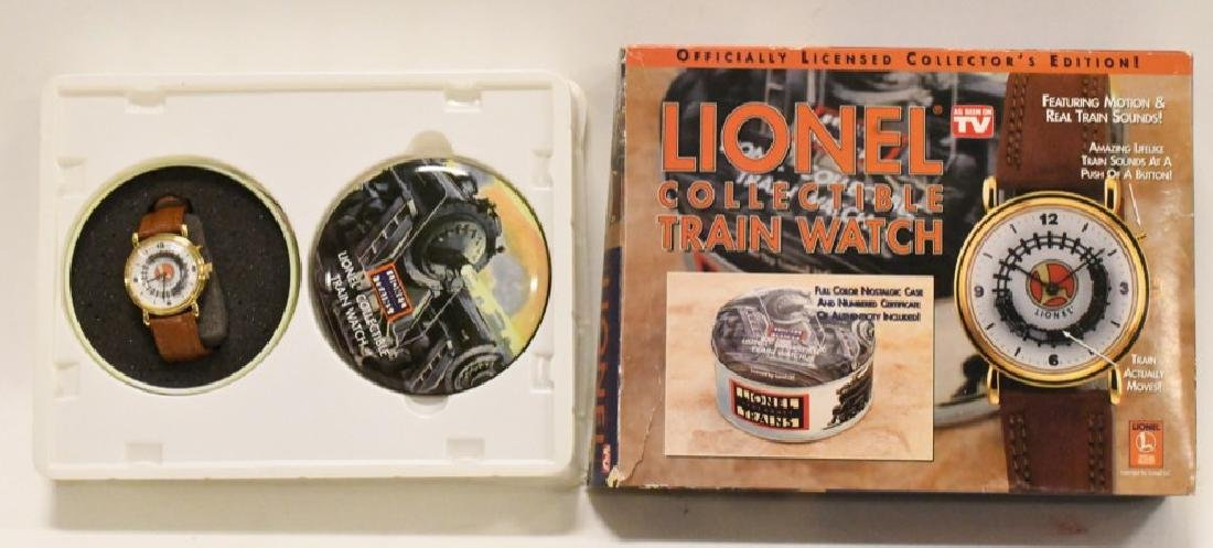 Lionel Collectible Train Watch NIB