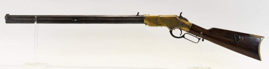Engraved New Haven Model 1860 Henry 44 Cal. Rifle