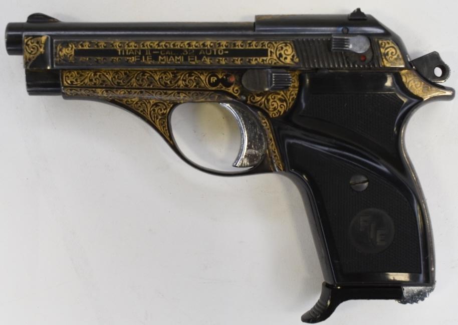 F.I.E. Titan II .32 Cal. Semi-Automatic Pistol