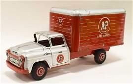 Marx Tin Litho A&P Super Markets Box Truck #1859