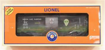 Lionel Aliensounds Boxcar Area 51 MIB #6-26867
