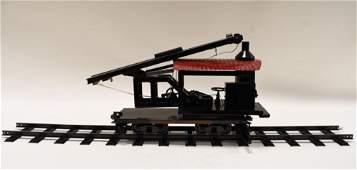Buddy L Outdoor Railroad Pile Driver Car