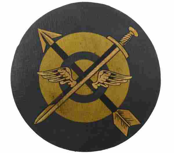 WWII 55th Fighter Sqn. Leather Flight Jacket Patch