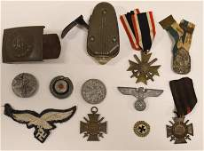 Lot Of WWII German Military Items