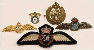 RCAF Royal Canadian Air Force Wings Pins  More