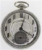 1916 Illinois 21J Abraham Lincoln Pocket Watch