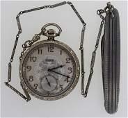 1930 Elgin 303 7 Jewel Open Face Pocket Watch