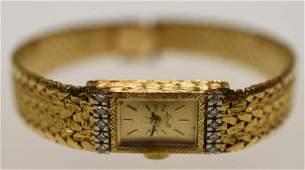 14k Yellow Gold Ladies Ebel Lorett Watch