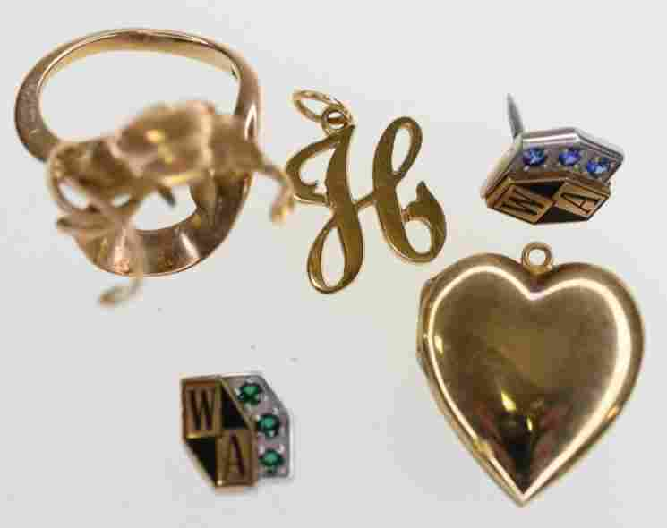 Lot Of 10K & 14K Gold Jewelry & Scrap 11.3 grams