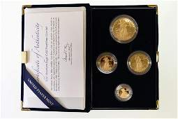 2010 American Eagle Gold Proof Four-Coin Set