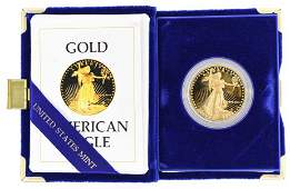 1986 American Eagle One Ounce Gold Proof Coin