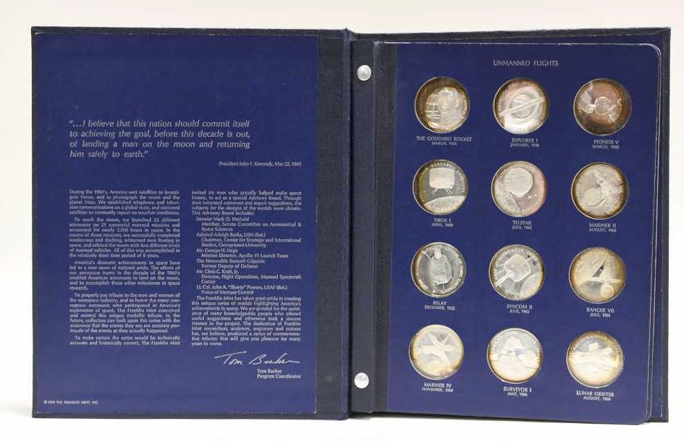 FM America In Space Sterling Silver Proof Set