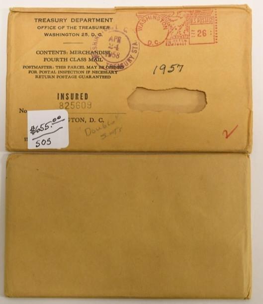 1957 U.S. Mint Uncirculated Set Sealed