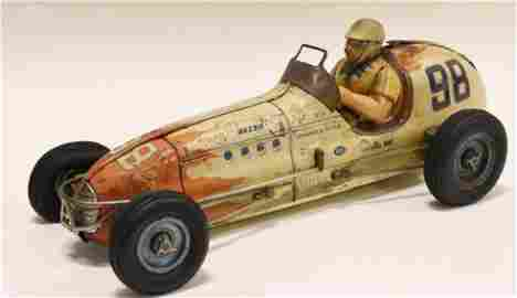 Sanyo Tin Litho Friction #98 Champion Indy Racer