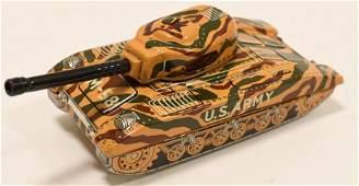 Japan Tin Friction US Army Tank