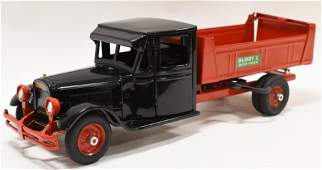 Restored Buddy L Junior Dump Truck