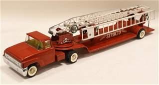 Structo Aerial Hook & Ladder Fire Truck