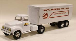 Restored Tonka North American Van Lines Truck