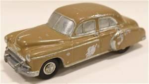 Cast Metal 1950 Chevrolet Banthrico Promo Car Bank