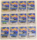 1995 Hot Wheels Complete Treasure Hunt Set