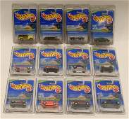 1996 Hot Wheels Complete Treasure Hunt Set