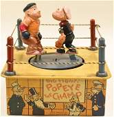 Scarce Marx Popeye The Champ Boxing Ring