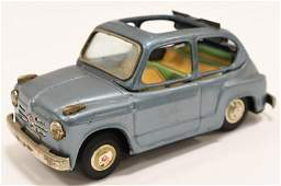 Bandai Japan Tin Litho Fiat 600 w Sun Roof