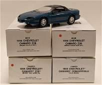 4 1995 Chevrolet Camaro Promo Cars In Boxes