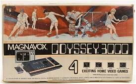 Magnavox Odyssey 3000 Arcade Video Game Console