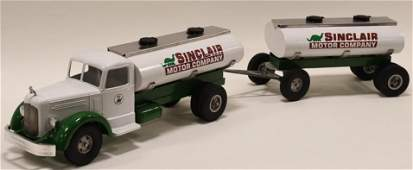Custom Smith Miller Sinclair Tanker Truck w/ Pup