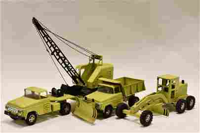 Tonka Lime Green Hi-Way Construction Set