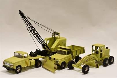 Tonka Lime Green Hi-Way Construction Set