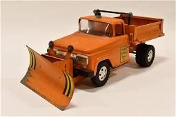 Tonka State Hi-Way Dept. Dump Truck w/ Plow